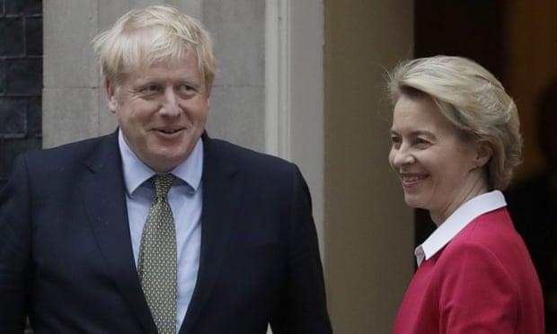 Boris Johnson under pressure