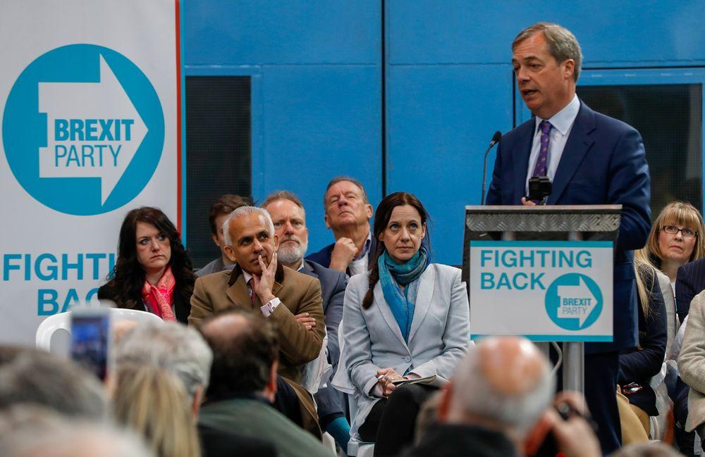 Nigel Farages Brexit Party